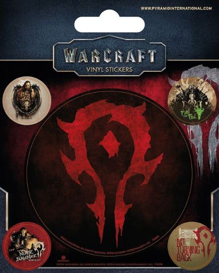 Warcraft Horde Vinyl Stickers